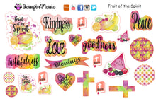 Load image into Gallery viewer, Fruit of the Spirit Bible Journaling and Inspirational Stickers