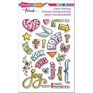 Bible Journal Clear Stamps - Stampendous