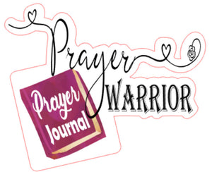 Prayer Bible Journaling and Inspirational Stickers