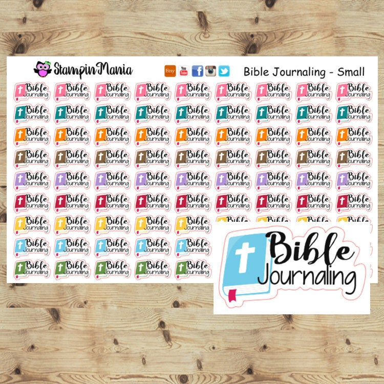 Bible Journaling Small Stickers