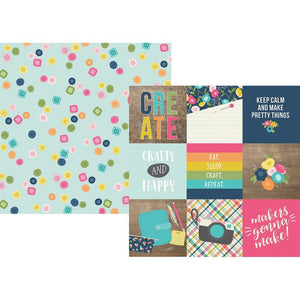 Crafty Girl 12x12 Collection Kit - Simple Stories