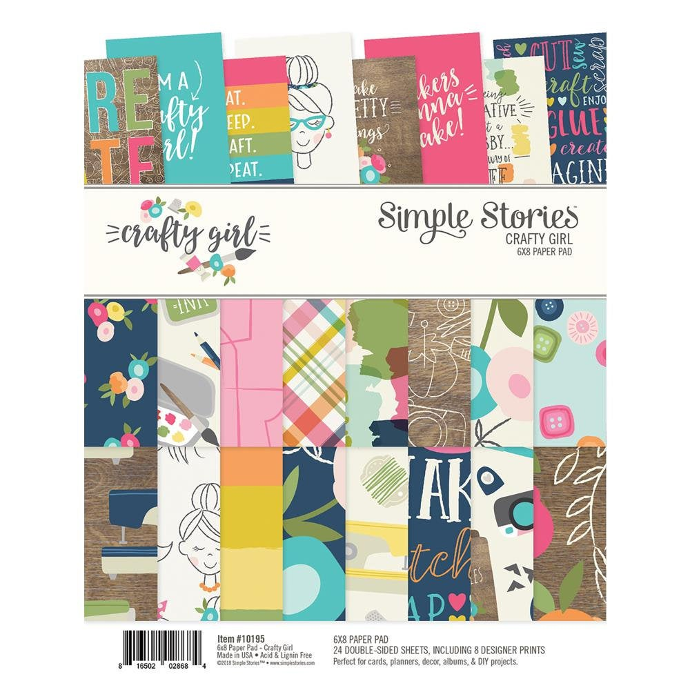 Crafty Girl 6x8 Paper Pad - Simple Stories