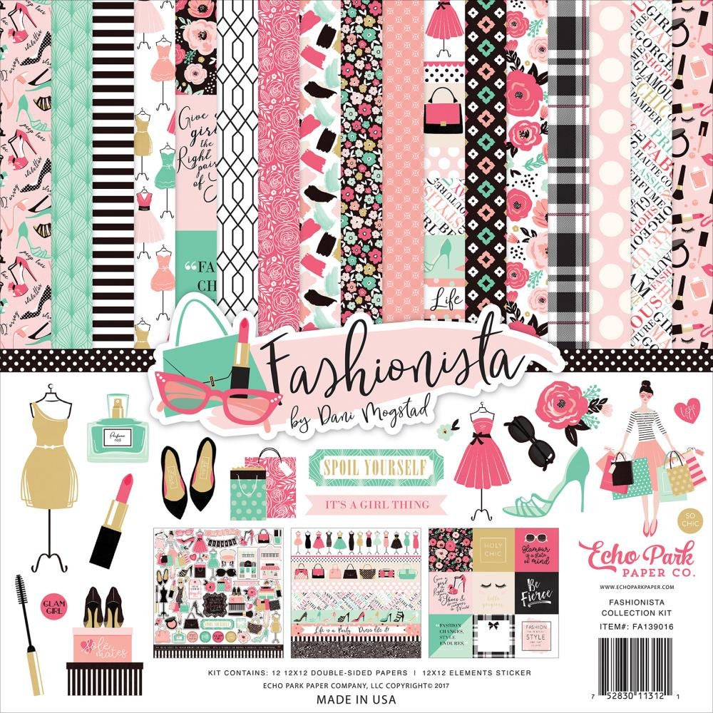 Fashionista 12x12 Collection Kit - Echo Park