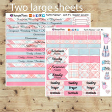 Load image into Gallery viewer, Faith Planner Kit - Happy Planner Faith Warrior Classic Size