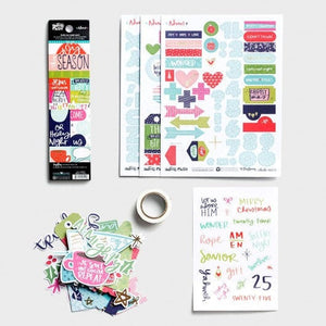 Advent Illustrated Faith Journaling Kit