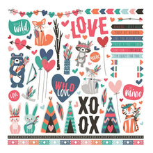Load image into Gallery viewer, Wild Love 12x12 Collection Kit - Photo Play