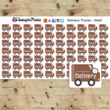 Load image into Gallery viewer, Delivery Trucks _Small Planner Stickers/EC/HP