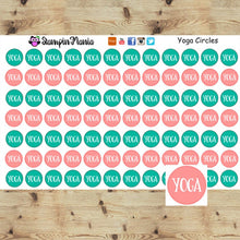 Load image into Gallery viewer, Yoga Circles Stickers