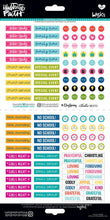 Load image into Gallery viewer, Faith Planner Stickers  127 pcs - Illustrated Faith