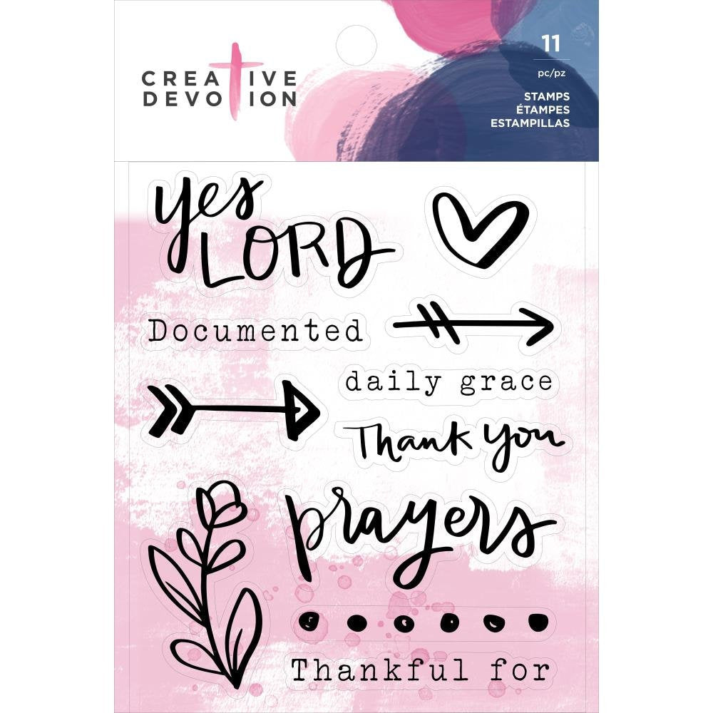 Prayers Acrylic Stamp Set (11 pcs) - Creative Devotion