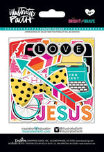 Load image into Gallery viewer, Bright & Brave, Die-cuts  32 pcs - Illustrated Faith