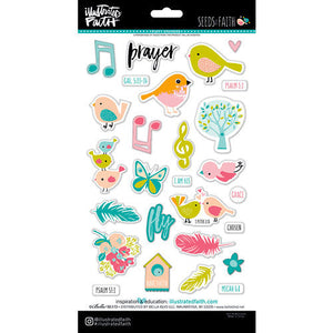 Seeds of Faith - Puffy Stickers 27 pcs - Illustrated Faith