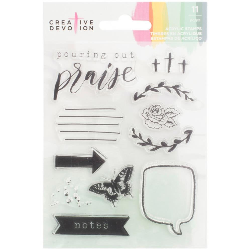 Praise Clear Stamps - Creative Devotion