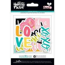 You are Loved, Die-cuts  35pcs - Illustrated Faith