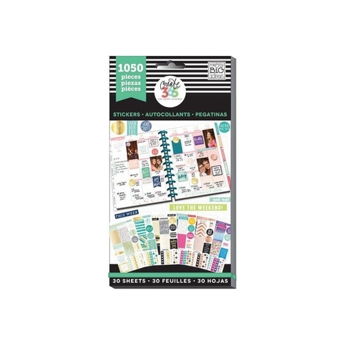 This Colorful Life Sticker Book (1050 pcs) - Happy Planner