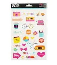 Load image into Gallery viewer, Bright and Brave - Puffy Stickers 27 pcs - Illustrated Faith