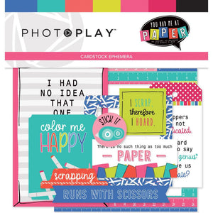 You Had Me at Paper  Die Cuts (Ephemera) - Photo Play