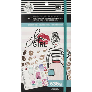 Glam Girl Accessory Book 636 pcs - Happy Planner
