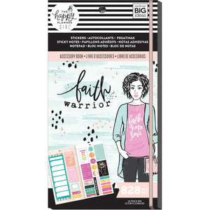 Faith Warrior Accessory Book 828 pcs - Happy Planner