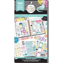 Load image into Gallery viewer, Pastel Tropics Sticker Book (560 pcs) - Happy Planner