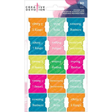 Load image into Gallery viewer, Bible Chapter Sticker Tabs, 74 pcs - Creative Devotion