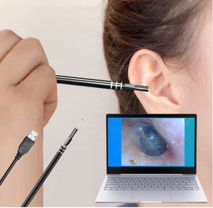 USB HD Visual Ear Spoon Multifunctional Earpick With Mini Camera Pen