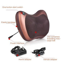 Load image into Gallery viewer, Car & Home Dual Use Massage Pillow