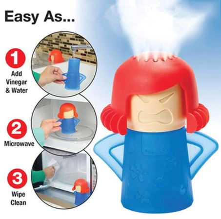 Angry Mama Microwave Cleaner Buy 1 Take 1