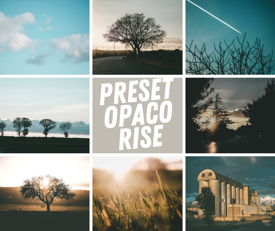Opaco Rise | Foto -  CameraRaw Lightroom Photoshop