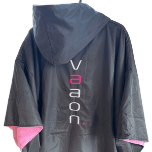 adult outdoor changing poncho pink