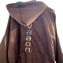 Load image into Gallery viewer, element outdoor poncho in blue back view