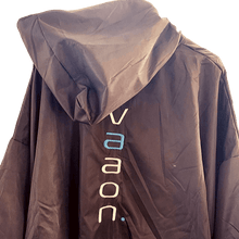 Load image into Gallery viewer, element outdoor changing poncho in grey back view