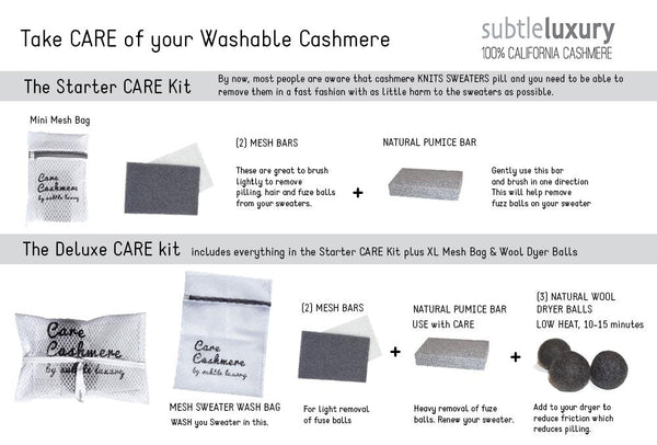 Cashmere Care Kit - Regular - Subtle Luxury