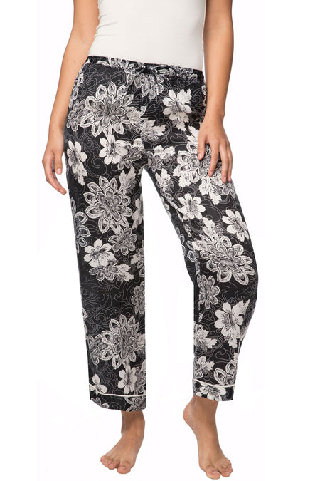 Bailey Beach Pant in Bold Ferns