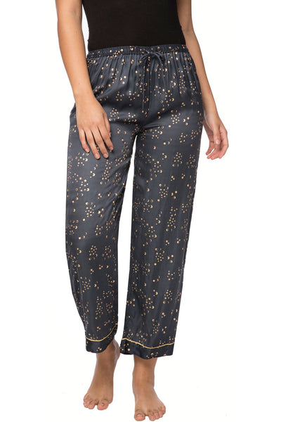 Moon Phase PJ Pant in Navy - Subtle Luxury