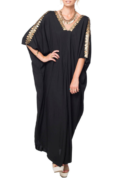 Bali Maxi Kaftan Dress - Subtle Luxury