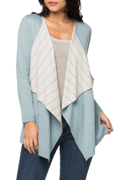 Pamela Reversible Duster Sweater Knit