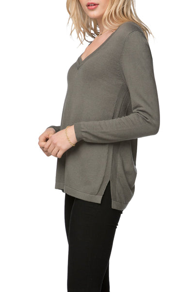 Adalyn Double Layer V Sweater