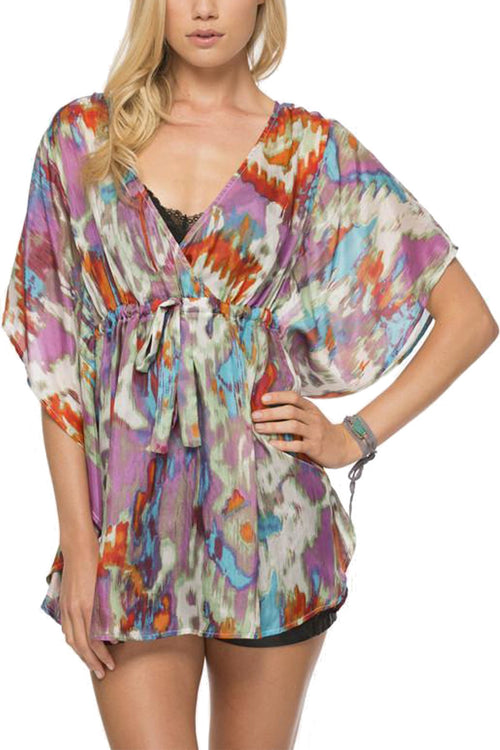 Sale Cross Over Flow Blouse