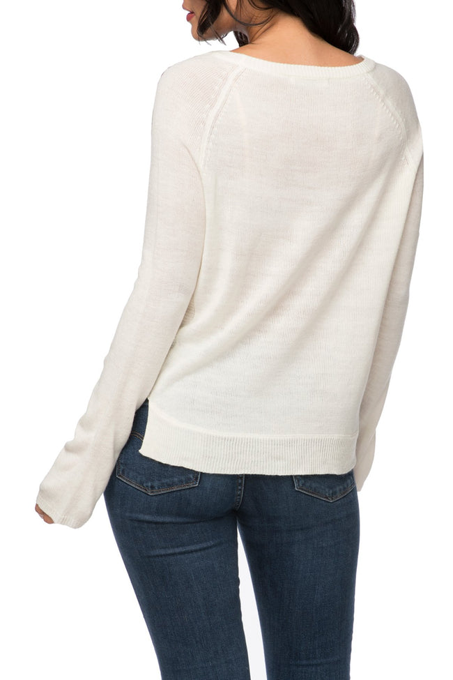 Damsel Off Shoulder Sweater