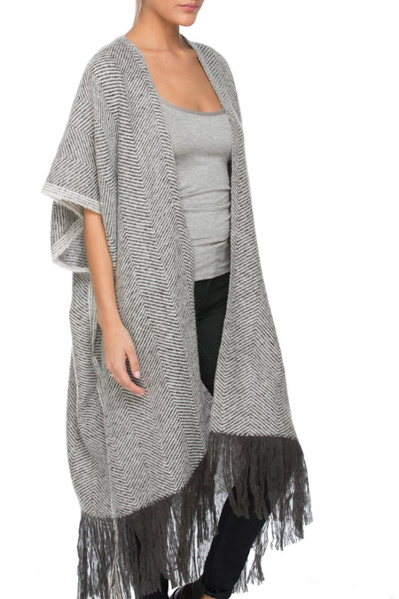 Luxury Wrap Scarf, Spray Dot