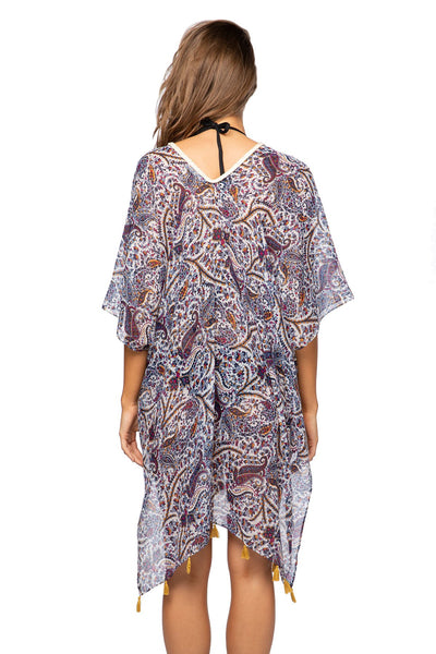 Yonder Mountain Print | Braided Kaftan