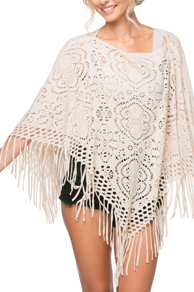 "Fringe Edge ""Woodstock"" in Ivory"