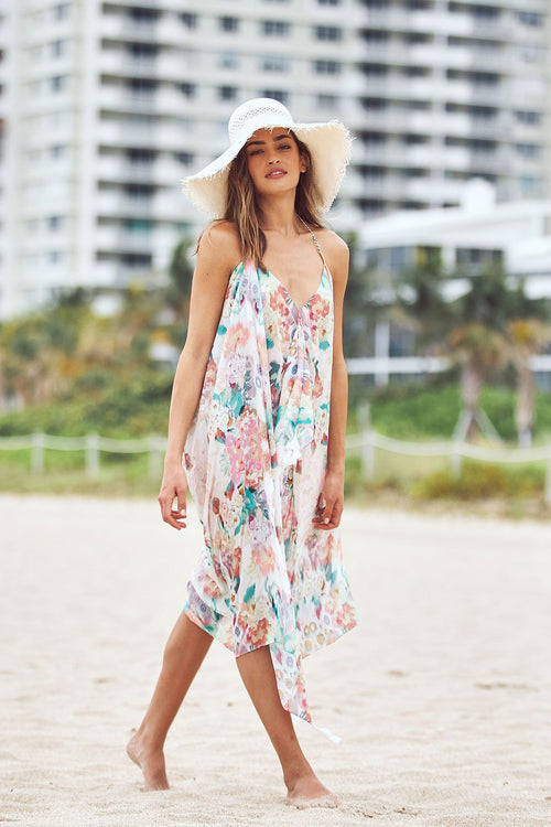Maxi Tassel Dress in Summer in Maui - Subtle Luxury