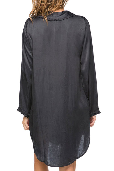 Miranda Sleepshirt in Black