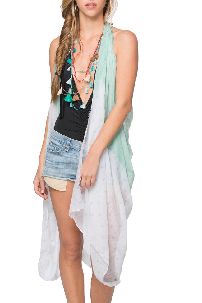 Free Spirit Vest in Lots O'Dots Print