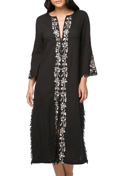 Catalana Maxi Dress in Ombre or Black