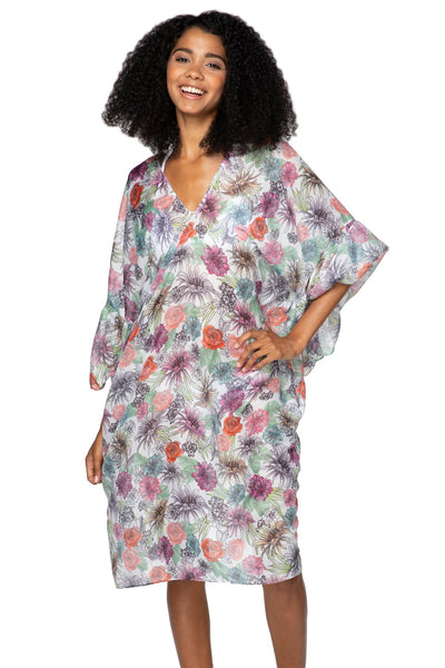 Tropical Oasis Bell Kaftan - Subtle Luxury