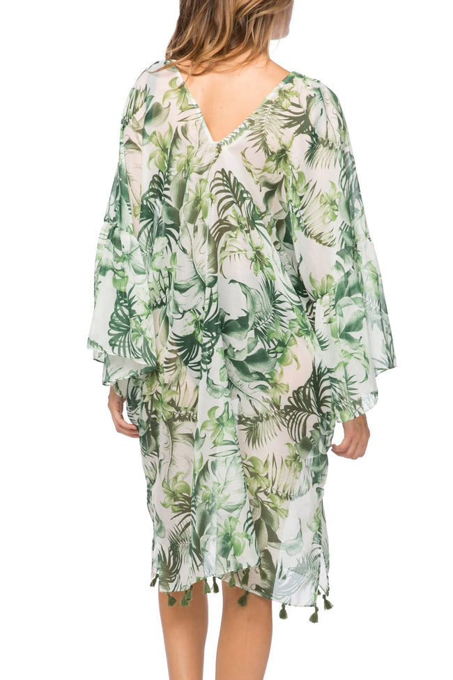 Palm Leaf Bell Kaftan