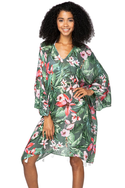 Madagascar Bell Kaftan - Subtle Luxury